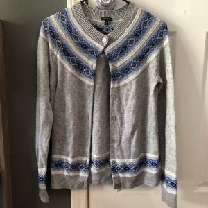 Talbots button down cardigan  size small